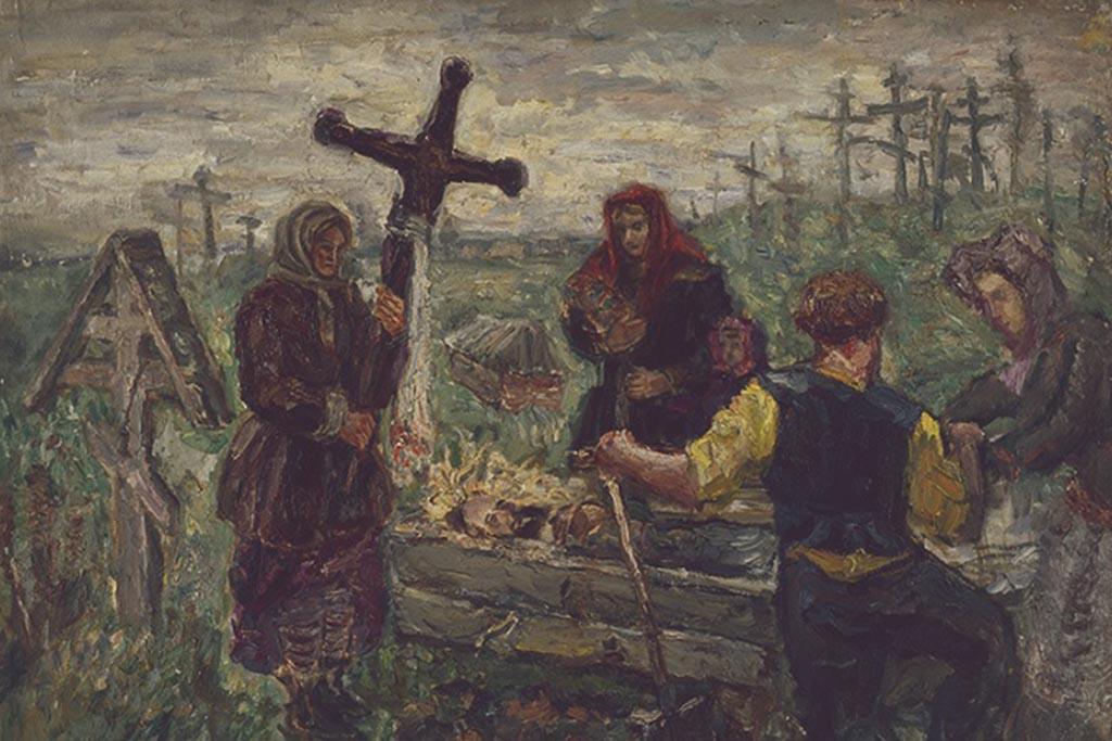 Напоминание о бренности человеческого бытия с приходом православия