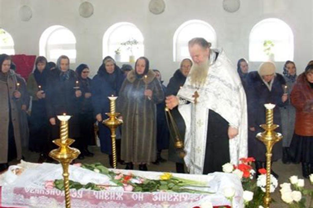 Отпевание – важная часть похоронного процесса