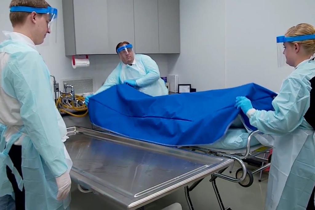 Подготовка тела усопших к захоронению