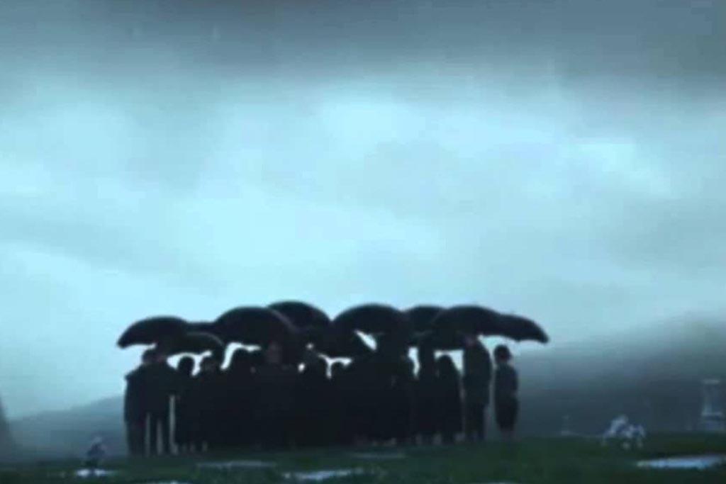 Погода в день похорон