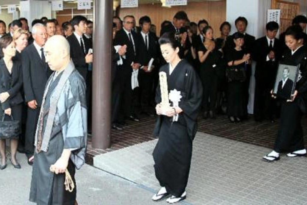 Похоронные традиции японцев