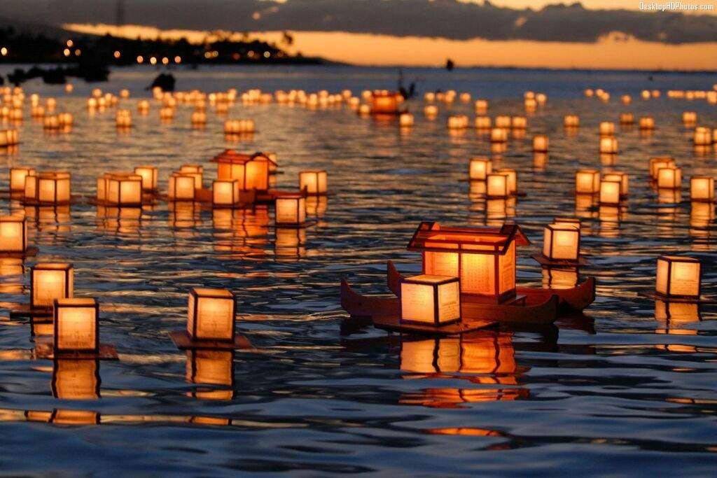 Поминальные обряды после похорон жителей Японии 4 раза каждый год