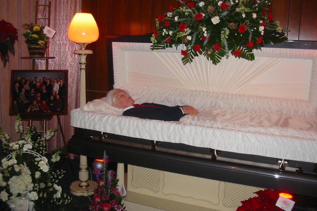 Закрытый гроб как открыть, если хочется попрощаться