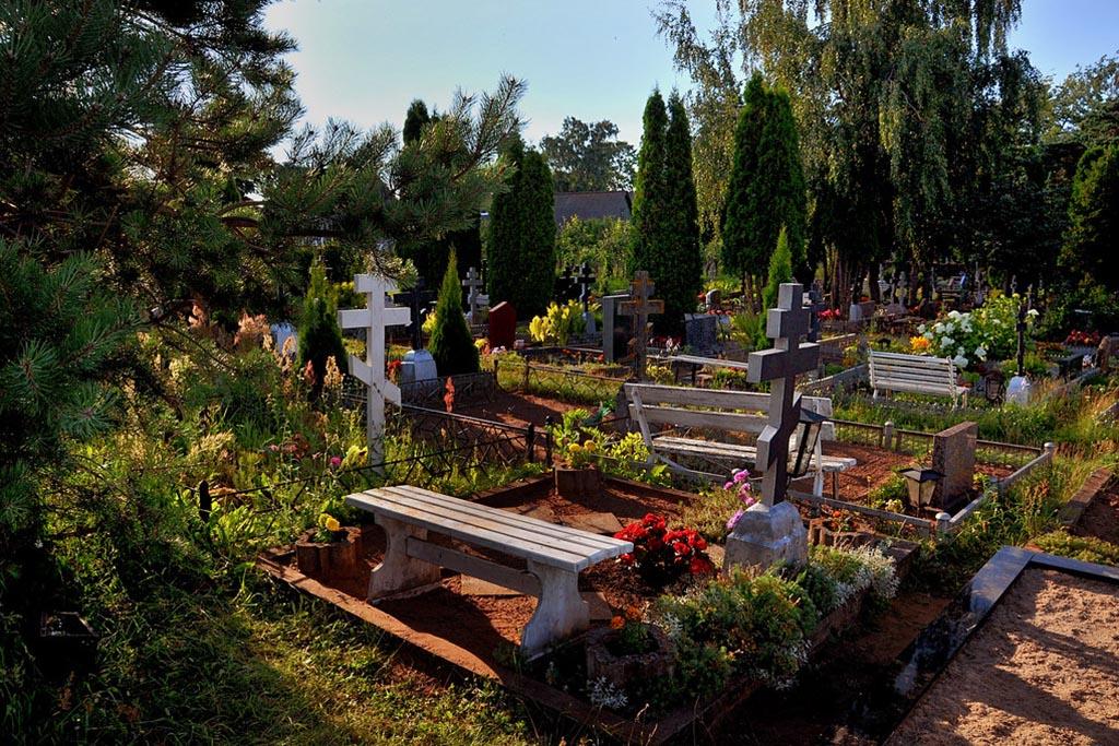 Земля с кладбища в доме