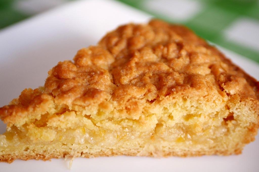 Кекс, лимонный пирог, узвар