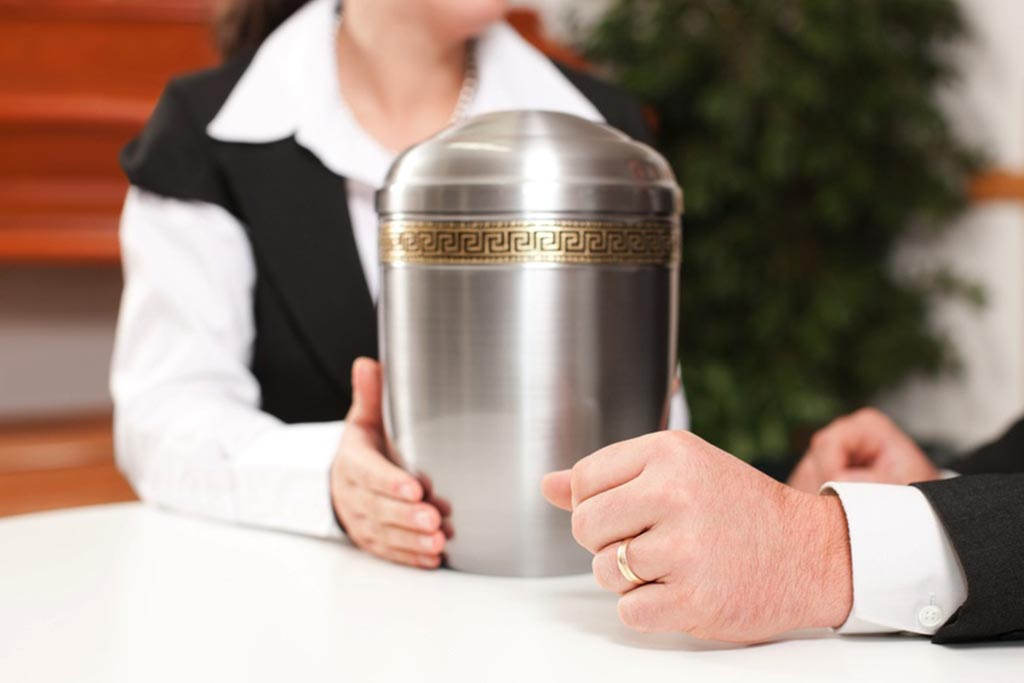 Пакет документов для получения урны с прахом