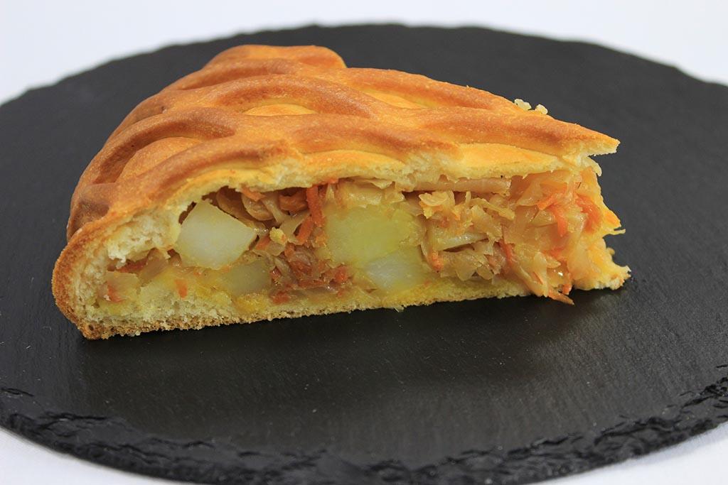 Пироги с картофелем или капустой