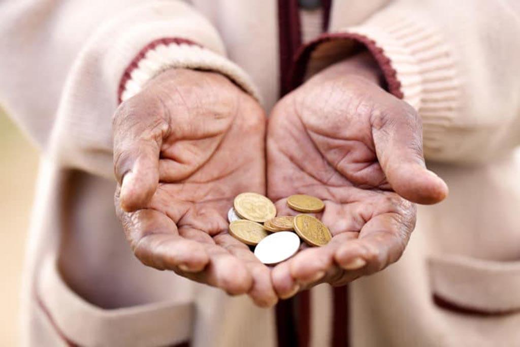 Раздача милостыни и помощи нуждающимся