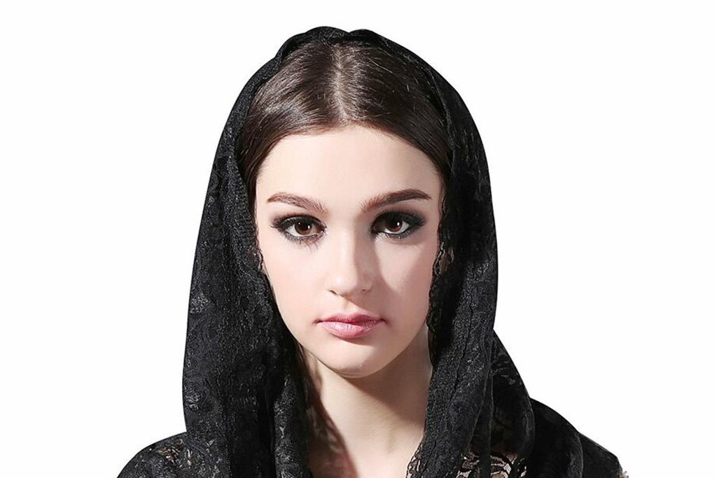 Значение черного убора на голове женщины