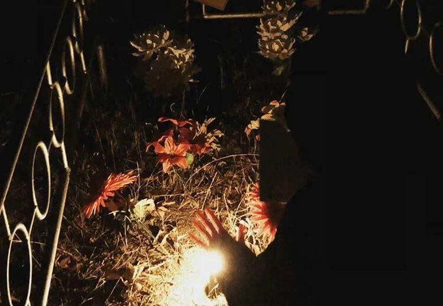 Кладбищенский магический ритуал