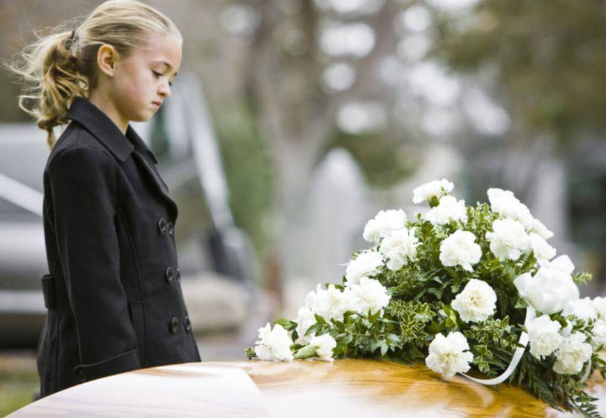 Как одеться на похороны детям