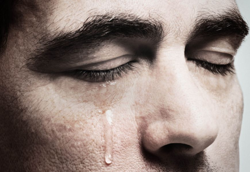 Слезы, как нормальная реакция психики