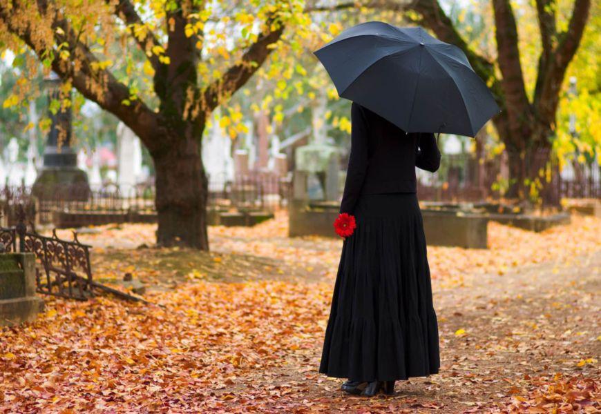 Можно ли женщине в положении ходить на кладбище