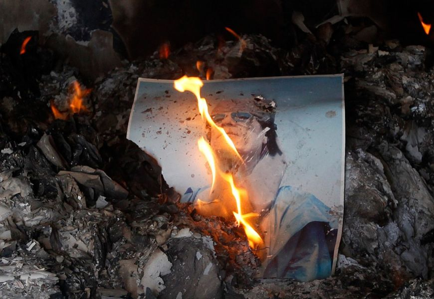 Сжигание фотографий