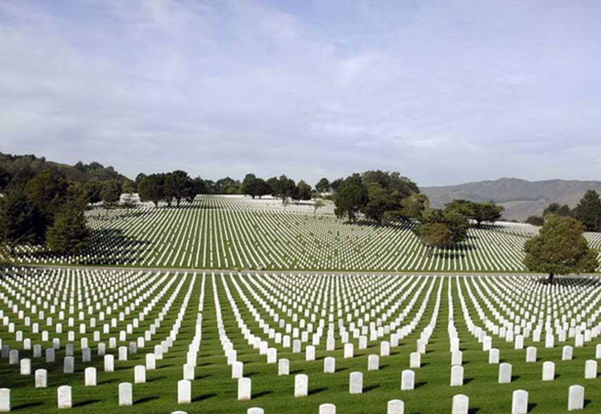 ТОП-20 самых больших кладбищ мира Арлингтонское Национальное кладбище