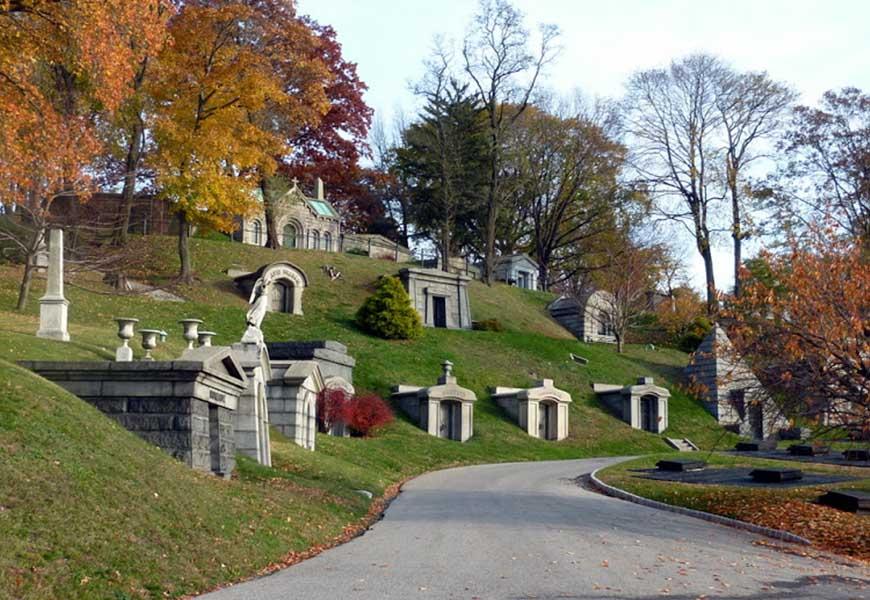 ТОП-20 самых больших кладбищ мира Кладбище Грин-Вуд