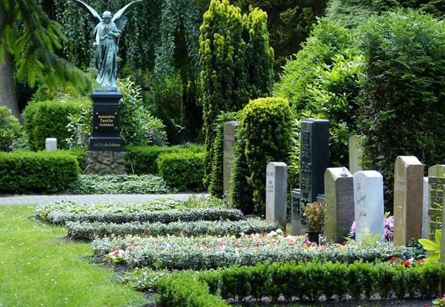ТОП-20 самых больших кладбищ мира Ольсдорфское кладбище в Гамбурге