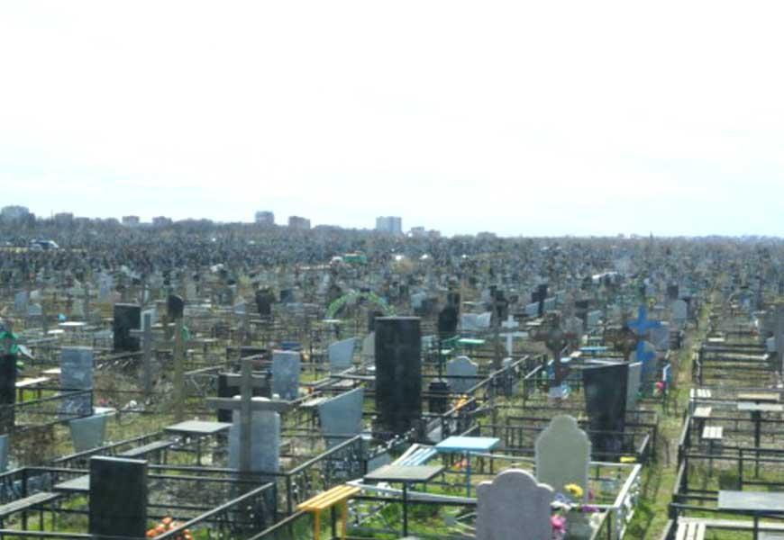 ТОП-20 самых больших кладбищ мира Ростовское кладбище 01
