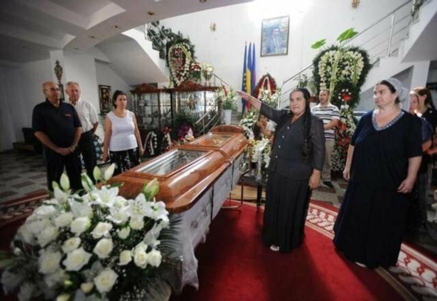 Цыганские похороны