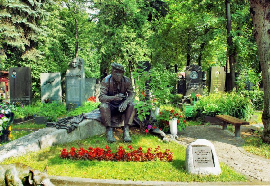Новодевичье Старое кладбище в Москве