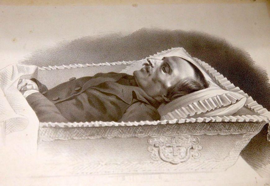 Перезахоронением Н.В.Гоголя