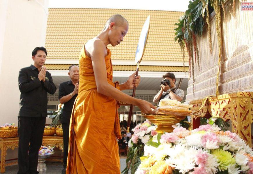 Похороны буддистов