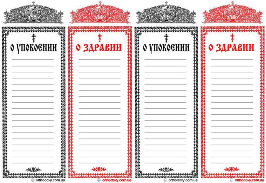 Церковные записки: древняя традиция, предназначение