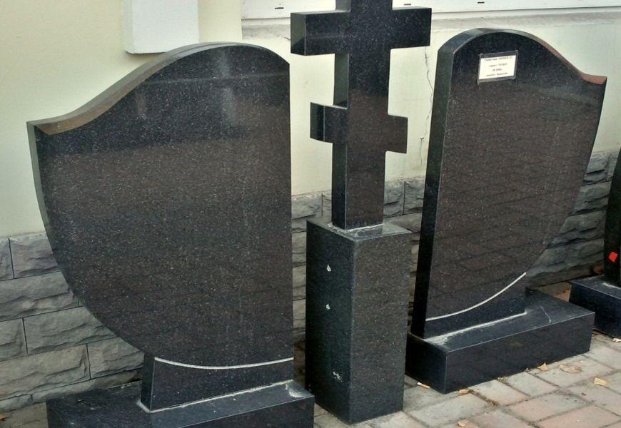 Двойные гранитные памятники