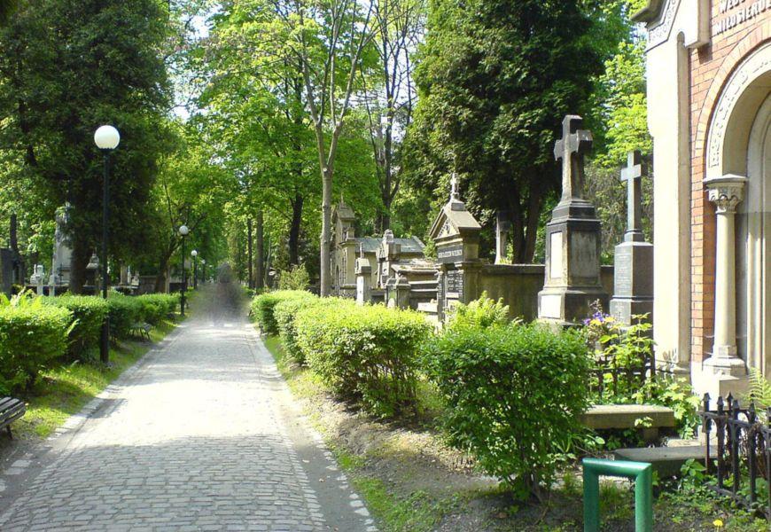 Раковицкое Кладбище в Польше