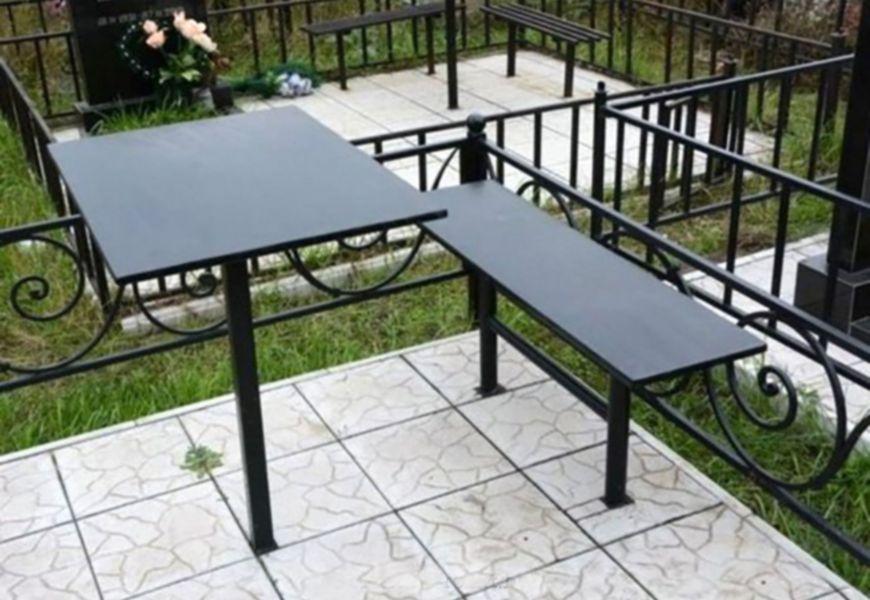 Конструкции скамейки и стола