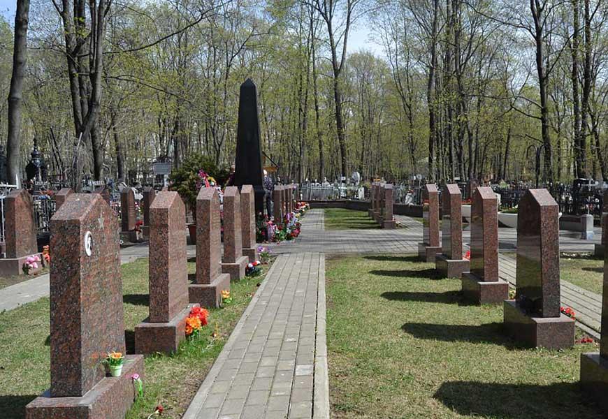 Братская могила Героям Великой Отечественной Войны на Ваганьковском кладбище