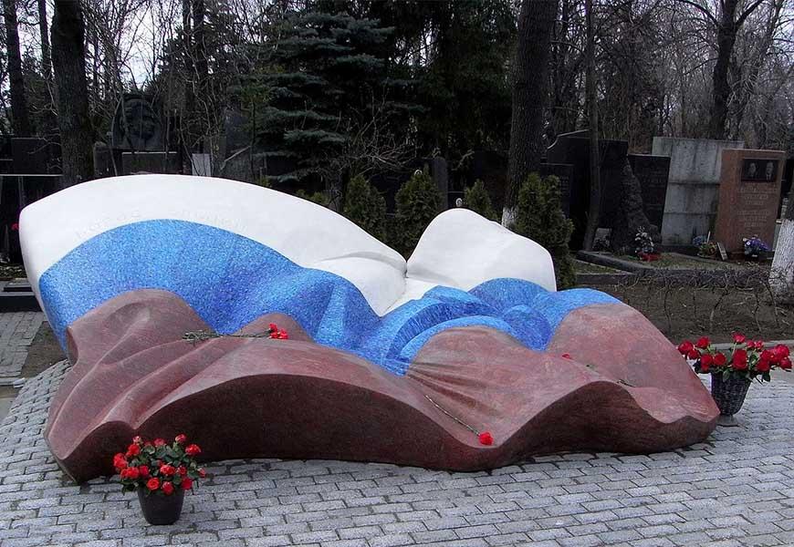 Могила Бориса Ельцина