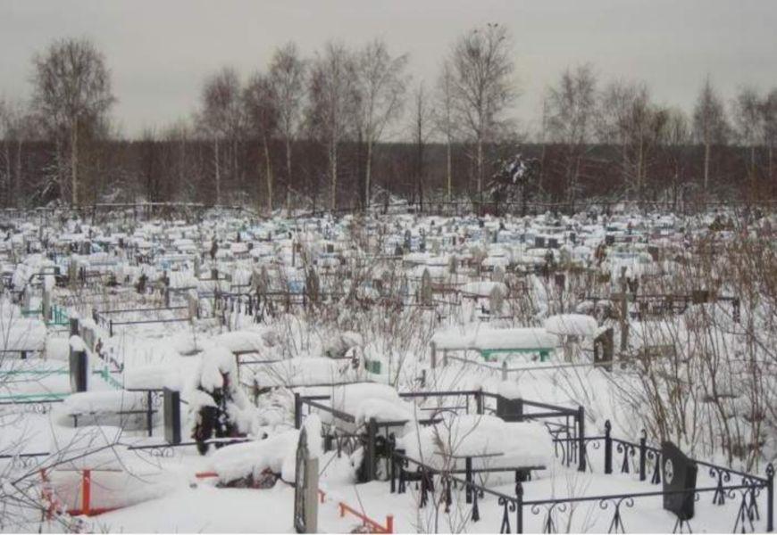 Снежное кладбище