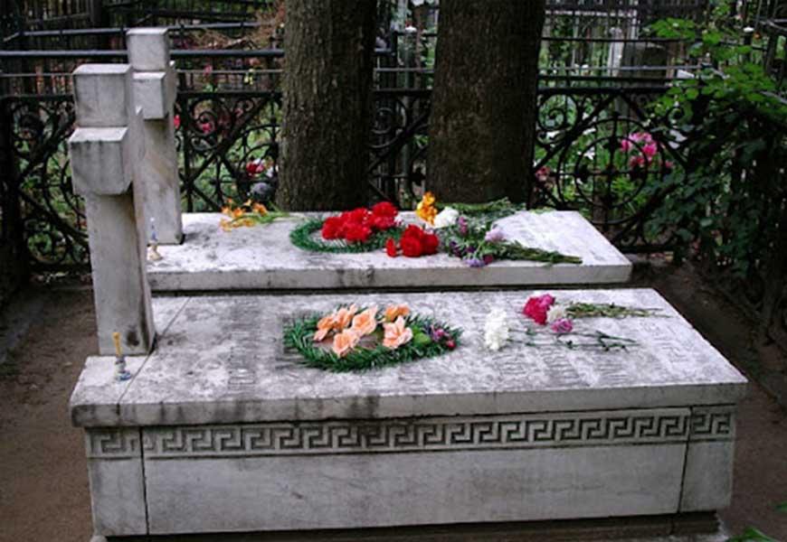 могила Анастасии Цветаевой