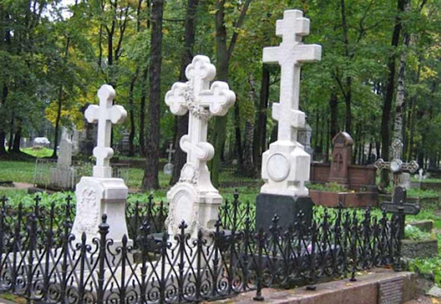 могила Федора Тютчева