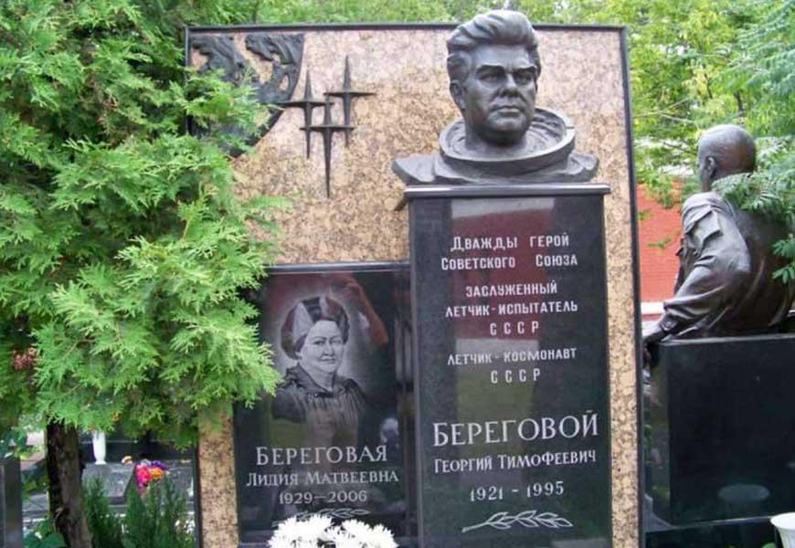 могила Георгия Берегового