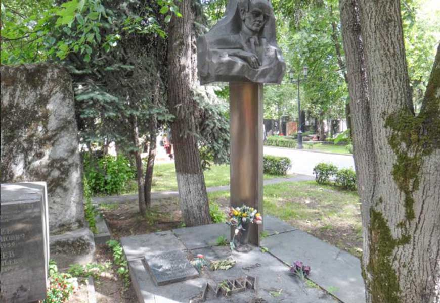 могила Льва Ландау
