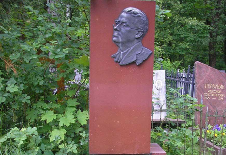 могила Николая Никитина