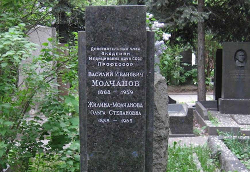могила Василия Молчанова