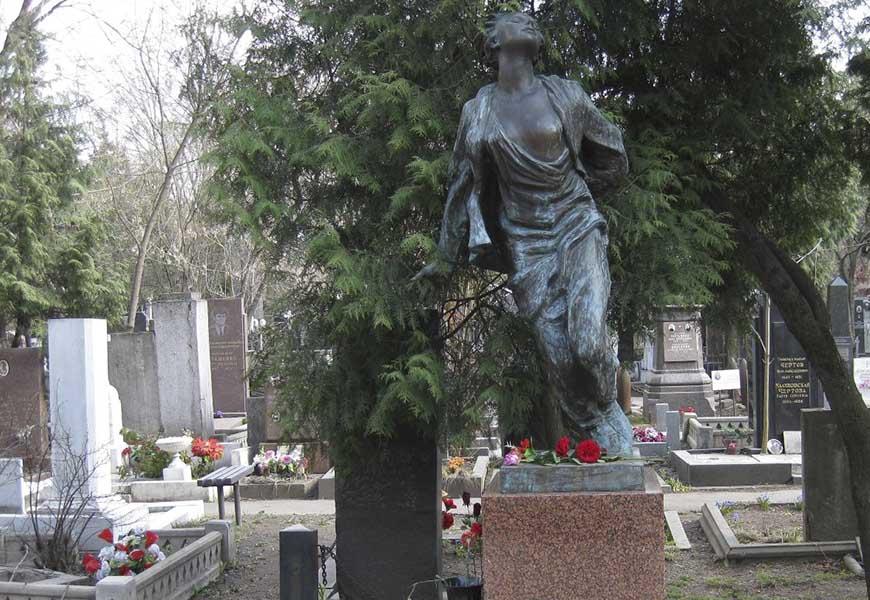 могила Зои Космодемьянской
